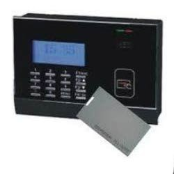 Card Based Attendance Machine