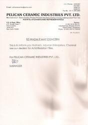 Dealership Certificate