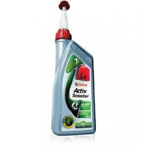 800ml Castrol Activ Scooter Engine Oil 4T At Rs 295/litre