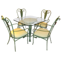 Wrought Iron Dining Tables