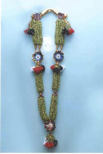 Cardamom Sandal Silk Balls Beads Garland Ramakrishna Khadi