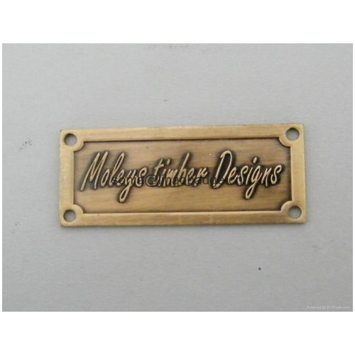 Brass Name Plate Banners Signs Nameplates Motif Signages Unit