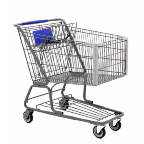 Stainless Steel Shopping Trolley Load Capacity : 50-100 kg