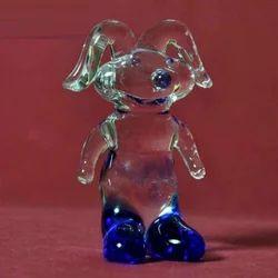 Lampworking Custom Miniature Glass Small Figurines Rabbit Sculpture