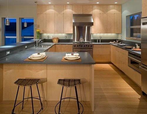 G-Shape Modular Kitchen, Interior Designing & Decoration ...