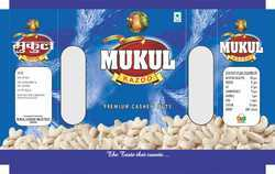 Mukul Dry Fruits Packaging Laminated Pouch