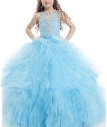 Blue Swan Princess Ball Gown