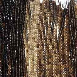 Smoky Cut Beads