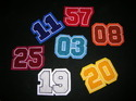 Chenille Patch for jackets, jerseys, hoodies etc.