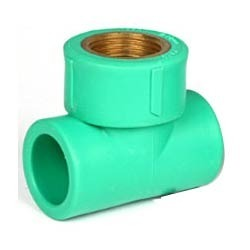 Plastic PPR Reducer Female Threaded Tee
