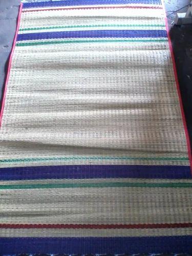 Eco Friendly Natural Kora Grass Sleeping Mat Bismi Mat