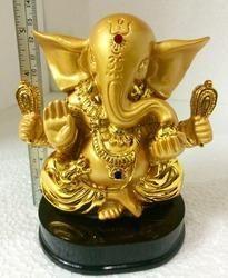 High Quality Lord Ganesh Gold Statue Show Piece Idol Ganesh