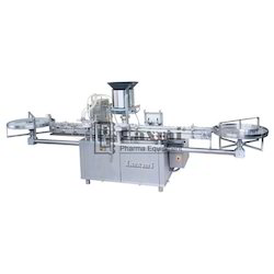 Automatic Four Head Vial Filling And Stoppering Machine