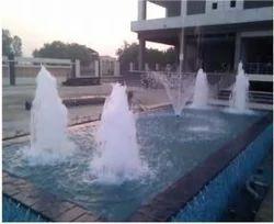 FRP blue Foam Jet Fountains