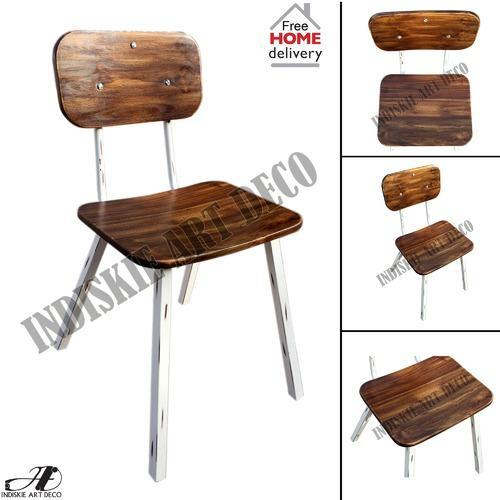 Vintage Industrial Style Dining Chairs Set At Rs 7400 Piece