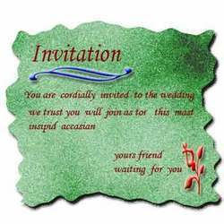 Invitation For Half Saree Function Best Custom Invitation