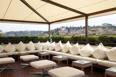 Hotel Roof Fabric Shade