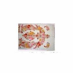 Multicoloured Embroidered Fabric