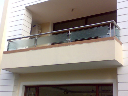 Balcony Railing Glass Balcony Railing Manufacturer From