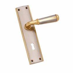 Interior Door CZ110 Brass Mortise Handle Lock, Packaging Type: Box
