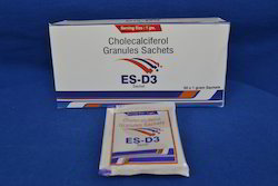 ES-D3 Cholecalciferol Granules Sachet, Packaging Size: 1 Gm/ Sachets