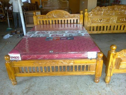 Manufacturer Of Teak Cot Amp Carving Teak Marriage Cot By