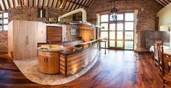 Bar Area Wooden Flooring