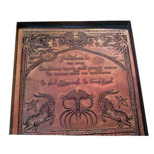 Name Plate Copper Etching Name Plate Manufacturer From
