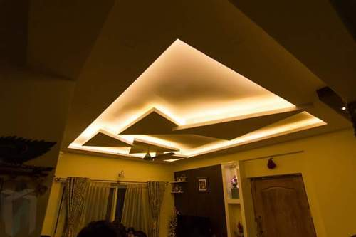 False Ceiling Interior Design in Karve Nagar, Alankar Society ...