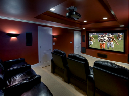 Home Theatre Interior   Home Theatre Interior Design Service Provider From  Hyderabad Part 69