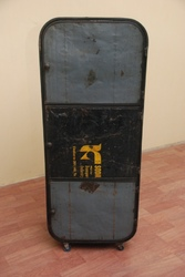 Iron Recycled Cabinet