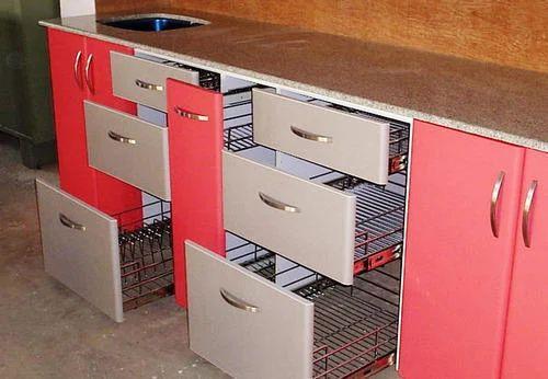 interior modular kitchen trolley at rs 2500 foot nanded pune id 9430074762 ForModular Kitchen Trolley Designs