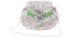 Hand Bags And Green Designar