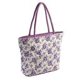 Canvas Ladies Bag with Soft Padded Handle