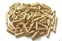Dark Brown Biomass Pellets, N