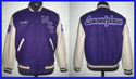 Purple Casual Wear Leather Jacket