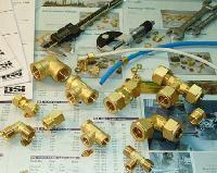 PBI, AVE Brass Compression Fittings, for Pneumatic Connections
