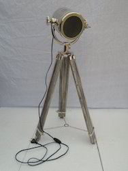 Wooden Tripod Spot Light