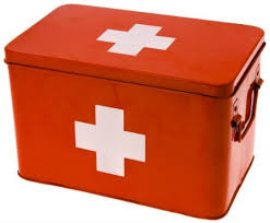 Blank First Aid Boxes