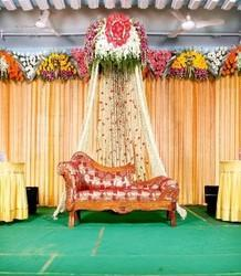 Simple flower decoration for wedding stage for 25th wedding anniversary stage decoration