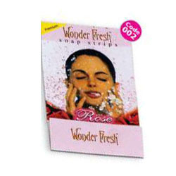 Rose Wonder Fresh Soap Strips