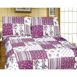 Pink Printed Quilt