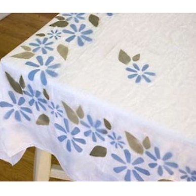Tablecloth Fabric Painting Fabric Painting Nagvem Goa
