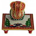 Box Marble Chowki Ganesh