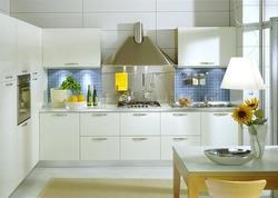 Wooden L Shape Modular Kitchen, For Home