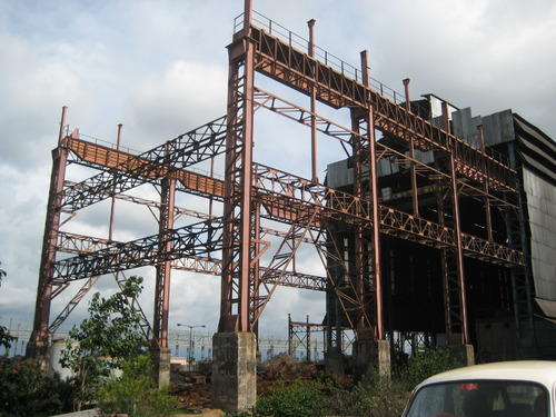 Steel Structure Fabrication Heavy Industrial Structures