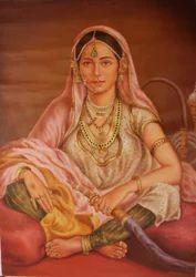 Royal Lady Painting