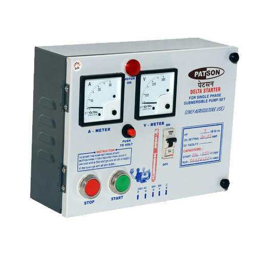 Submersible Pump Control Panel | Patson | Manufacturer in Shekhawati ...