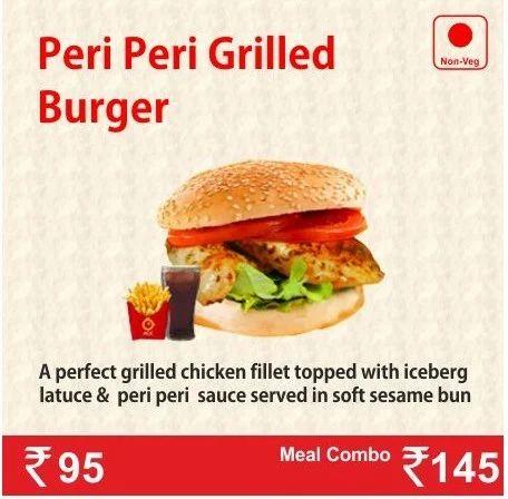 Food Items Aloo Patty Burger Service Provider From Delhi