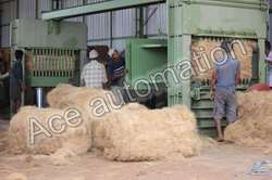 Coir Fibre Baling Machine - Coir Press Machine Manufacturer from